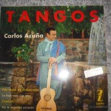 Discos de vinilo: CARLOS ACUÑA -TANGOS. Lote 42033649