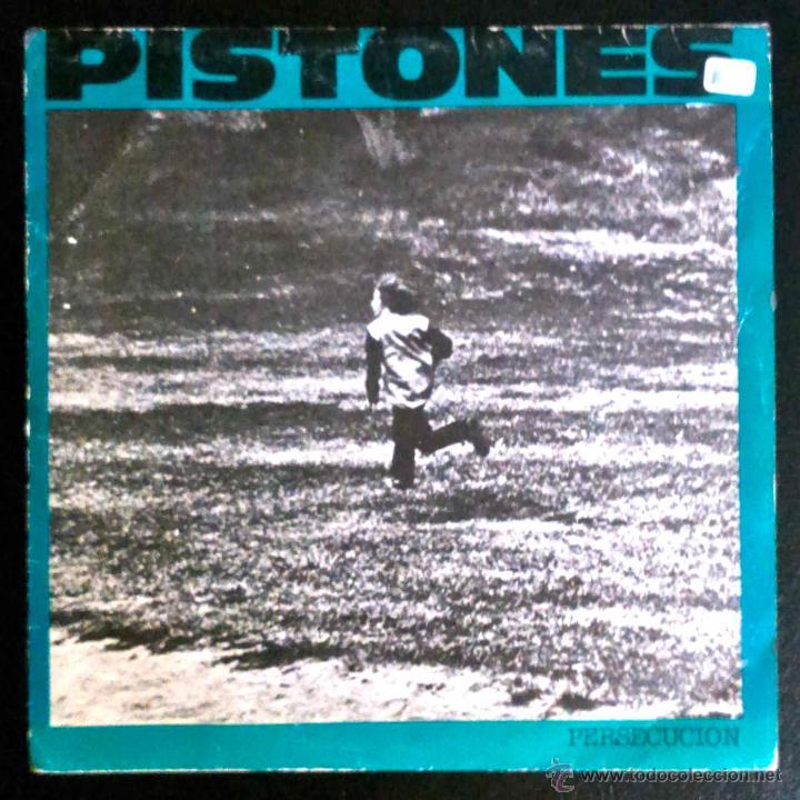 PISTONES - PERSECUCIÓN - SINGLE PROMOCIONAL (Música - Discos - Singles Vinilo - Grupos Españoles de los 70 y 80)