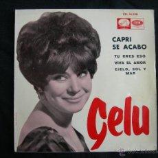 Discos de vinilo: EP GELU // CAPRI SE ACABO + 3. Lote 42047750