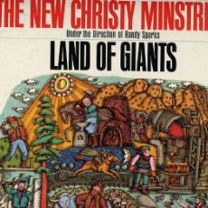 Discos de vinilo: THE NEW CHRISTIE MINSTREL EE.UU. LAND OF GIANTS CBS RED LABEL 360. Lote 42049967