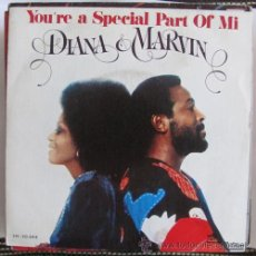 Discos de vinilo: DIANA ROSS & MARVIN GAYE - YOU'RE A SPECIAL PART OF ME - SINGLE 1974. Lote 133537121