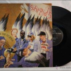 Discos de vinilo: DISCO LP VINILO - THE STUPIDS - JESUS MEETS THE STUPIDS - EDITA VINYL SOLUTION - 1988 - REINO UNIDO. Lote 42053488