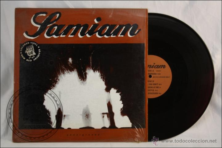 MAXI SINGLE / EP VINILO - SAMIAM - UNDERGROUND - EDITA NEW RED ARCHIVES - 1989 - USA - VINILO COLOR (Música - Discos de Vinilo - EPs - Punk - Hard Core)