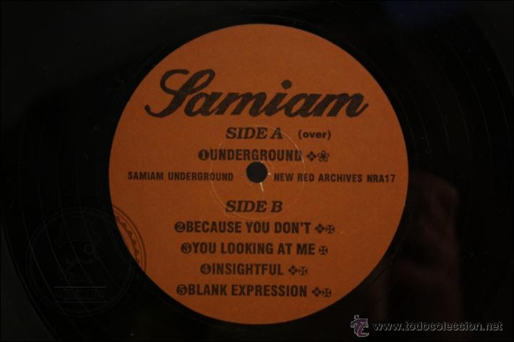 Discos de vinilo: Maxi Single / EP Vinilo - Samiam - Underground - Edita New Red Archives - 1989 - USA - Vinilo Color - Foto 2 - 42053862