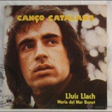 Discos de vinilo: DISCO LP VINILO - LLUIS LLACH. MARIA DEL MAR BONET - CANÇÓ CATALANA - EDITA ARIOLA - 1977 - ESPAÑA. Lote 42054809