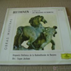 Discos de vinilo: EUGEN JOCHUM EP 45 RPM BEETHOVEN FIDELIO ESPAÑA 1964. Lote 42056073