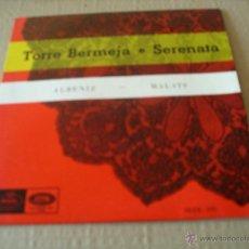 Discos de vinilo: ORQUESTA SINFONICA ESPAÑOLA EP 45 RPM ALBENIZ MALATS 1958. Lote 42056680