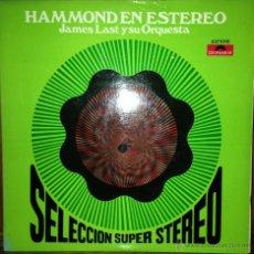 Discos de vinil: LP ARGENTINO DE JAMES LAST Y SU HAMMOND BAR COMBO AÑO 1969. Lote 42062598