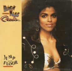 Dischi in vinile: VENDO SINGLE DE BLACK KISS FEACTURING CHERITA. (JUMP ON THE FLOOR).. Lote 42066032