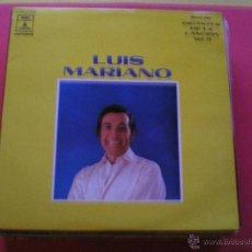 Discos de vinilo: LUIS MARIANO GIGANTES DE LA CANCION VOL 20 LP PEPETO. Lote 42070425