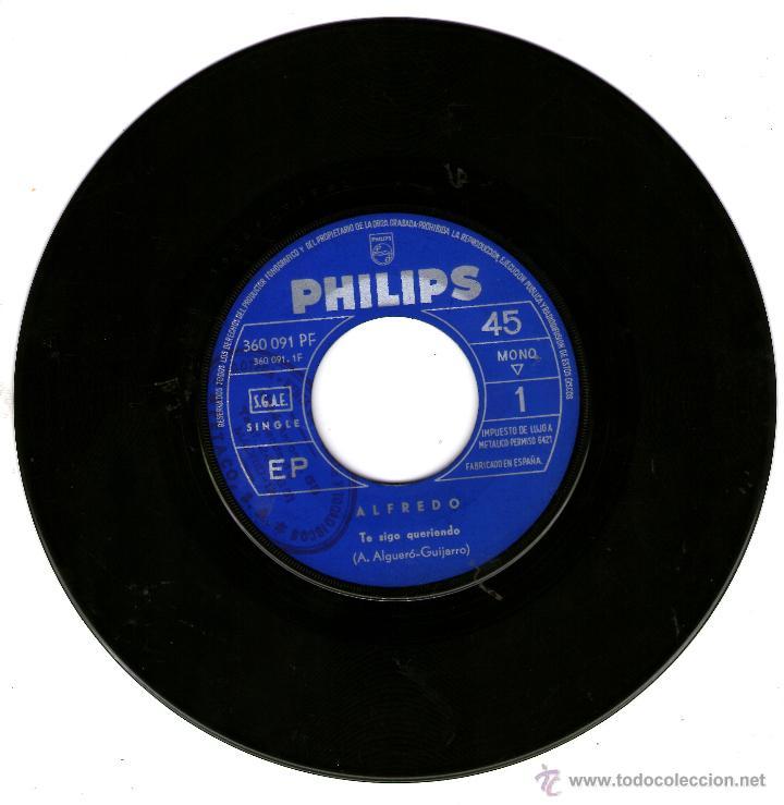 ALFREDO TE SIGO QUERIENDO (Música - Discos - Singles Vinilo - Solistas Españoles de los 50 y 60)