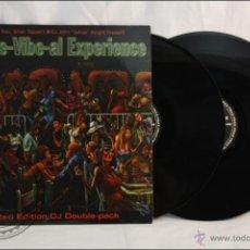 Discos de vinilo: DISCO DOBLE LP - SOULFURIC TRAX, B. TAPPERT &... - THE RE-VIBE-AL EXPERIENCE - 1988 - ELECTRÓNICA. Lote 42072935