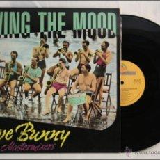 Discos de vinilo: MAXI SINGLE VINILO - JIVE BUNNY & THE MASTERMIXERS - SWING THE MOOD - GINGER MUSIC - 1989 - ESPAÑA. Lote 42073459