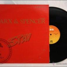 Discos de vinilo: MAXI SINGLE VINILO - DAVID MARX & SPENCER TRACY - STAY - EDITA CBS - 1983 - ESPAÑA. Lote 42073491