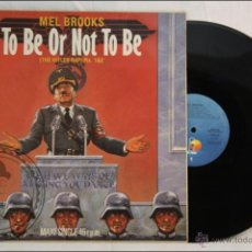 Discos de vinilo: MAXI SINGLE - BSO TO BE OR NOT TO BE (THE HITLER RAP) - MEL BROOKS - ED. ISLAND - 1983 - ESPAÑA. Lote 42076018