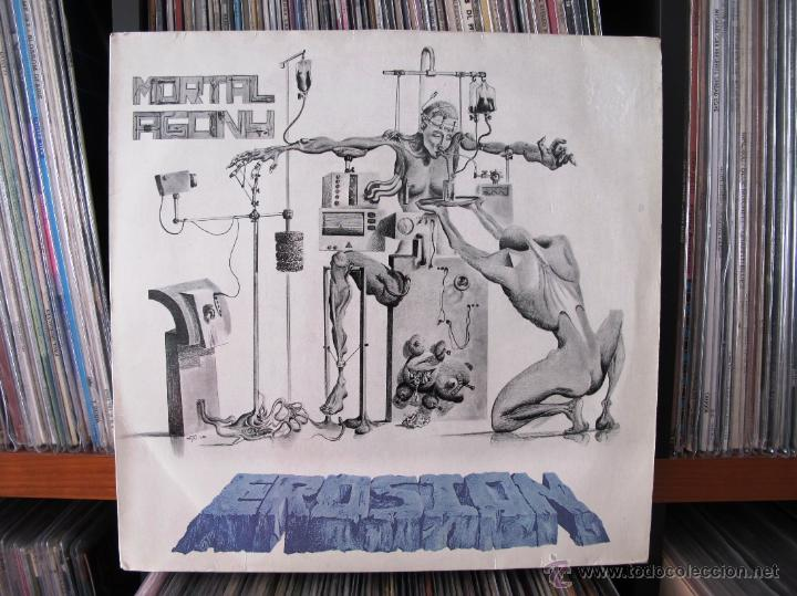 EROSION - MORTAL AGONY LP TRASH METAL SPEED METAL HARDCORE 1988