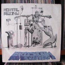 Discos de vinilo: EROSION - MORTAL AGONY LP TRASH METAL SPEED METAL HARDCORE 1988. Lote 42088104
