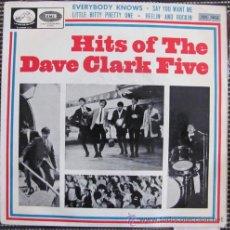 Discos de vinilo: THE DAVE CLARK FIVE - EVERYBODY KNOWS - LITTLE BITTY PRETTY ONE ... + 2 TEMAS - E.P. 1965. Lote 42092076