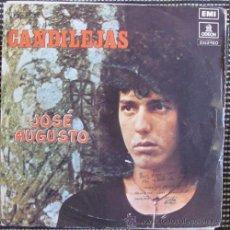 Disques de vinyle: JOSE AUGUSTO - CANDILEJAS ( CH. CHAPLIN) - YO SOLO BUSCO UN CARIÑO - SINGLE 1974. Lote 42094695