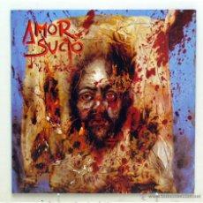 Discos de vinilo: AMOR SUCIO - 'LA FARSA' (LP VINILO. CARPETA ABIERTA. ORIGINAL 1991). Lote 42096925