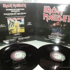 Discos de vinilo: IRON MAIDEN - TWILIGHT ZONE - UK ENGLAND DOBLE MAXI GATEFOLD COVER - FIRST TEN YEARS - VINILOVINTAGE. Lote 42099048