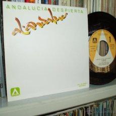 Discos de vinilo: AL-ANDALUS ANDALUCIA DESPIERTA SINGLE ROCK ANDALUZ SPAIN NUEVO. Lote 42099669