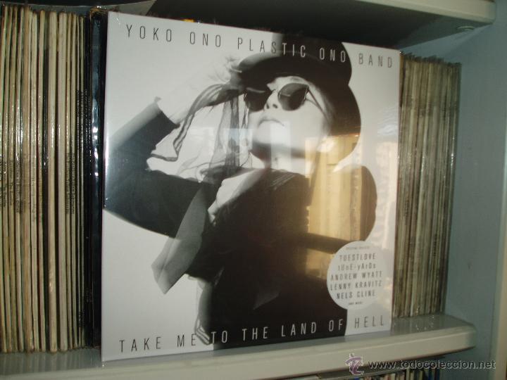 YOKO ONO & PLASTIC ONO BAND TAKE ME TO THE LAND OF HELL BEATLES CHIMERA USA (Música - Discos - LP Vinilo - Pop - Rock Extranjero de los 90 a la actualidad)