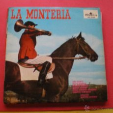Discos de vinilo: LA MONTERIA / LINA HUARTE / MANUEL AUSENSI LP ALHAMBRA DE 1963. Lote 42102075