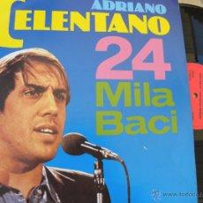 Discos de vinilo: ADRIANO CELENTANO -24 MILA BACI -LP 1989 -BUEN ESTADO. Lote 42111587