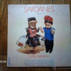 Discos de vinilo: COBLA BARCELONA - SARDANES VOL 2 . Lote 42115021