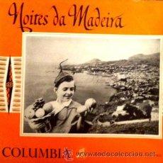 Discos de vinilo: NOITES DA MADEIRA - LUÍS PIÇARRA, MARIA MANUELA.. LP 10 PULGADAS. Lote 42115495