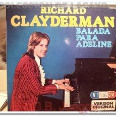Discos de vinilo: LP - RICHARD CLAYDERMAN BALADA PARA ADELINE LP DE 1983. Lote 42116021