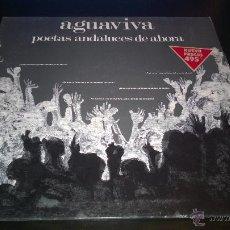 Vinyl records - AGUAVIVA - POETAS ANDALUCES DE AHORA - NUEVO - 42140166