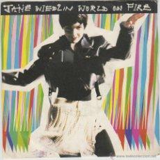 Discos de vinilo: JANE WIEDLIN - WORLD ON FIRE - FLOWERS ON THE BATTLEFIELD, EDITADO POR EMI USA EN ESTADOS UNIDOS. Lote 42140318