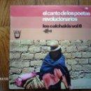 Discos de vinilo: LOS CALCHAKIS - VOL 8 - EL CANTO DE LOS POETAS REVOLUCIONARIOS . Lote 42145007