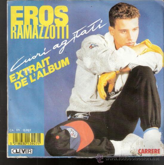 Discos de vinilo: Eros Ramazzotti. Cuori agitati. Libertá libertá. Clever . Carrere. 1985. Todo en fotos. - Foto 4 - 39188950
