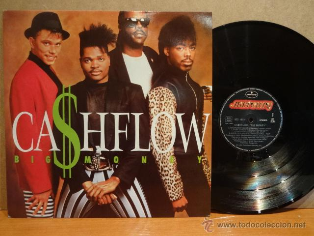 CASHFLOW. BIG MONEY. LP / MERCURY / 1988. CALIDAD LUJO. ****/**** (Música - Discos - LP Vinilo - Funk, Soul y Black Music)