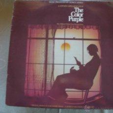 Discos de vinilo: THE COLOR PURPLE DOBLE LP. Lote 42159629