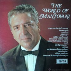 Discos de vinilo: MANTOVANI - THE WORLD OF MANTOVANI - EDICIÓN DE 1968 DE ENGLAND. Lote 42172670