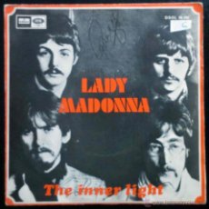 THE BEATLES - LADY MADONNA, THE INNER LIGHT - SINGLE ESPAÑA