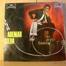 Discos de vinilo: ADEMAR SILVA - UM GAUCHO FORASTEIRO - FONTANA 6488 178 - 1968 (1982) - EDICION BRASILEÑA - PROMO . Lote 42188852