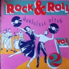 Discos de vinilo: ROCK & ROLL ORIGINAL HITS VOL. 2 - LP . 1988 . CELEBRATION CEL002. Lote 42196643