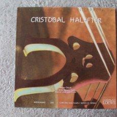 Discos de vinilo: GRUPO CIRCULO, INTERPRETA A CRISTOBAL HALFFTER (GASA 1988) LP NUEVO AVANTGARDE JOSE LUIS TEMES. Lote 42208557