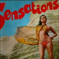 Discos de vinilo: LP SENSATIONS: PETER HAMILTON & MARIO PEZZOTA & BRUNO BATTISTI & PETE PEARL & CAT COLLLINS SEXTET. Lote 42208942