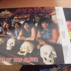 Discos de vinilo: EXODUS (PLEASURES OF FLESH) LP HEAVY 1987 UK MUSIC FOR NATIONS (EX+/NM) (VIN9). Lote 175657259