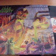 Discos de vinilo: LAAZ ROCKIT (ANNIHILATION PRINCIPLE) LP HEAVY 1989 ESPAÑA ENIGMA - DRO (NM/NM) (VIN9). Lote 42210328