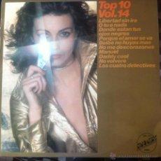 Discos de vinilo: TOP 10 VOLUMEN 14 . LP . 1977 EMBASSY . EMB 31447. Lote 42220910