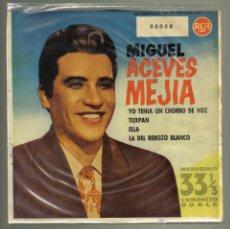 Discos de vinilo: MIGUEL ACEVES MEJIA. YO TENÍA UN CHORRO DE VOZ + 3. RCA 1961. LITERACOMIC.. Lote 42222833