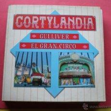 Discos de vinil: LP - INFANTILES - CORTYLANDIA - GULLIVER Y EL GRAN CIRCO - ORIGINAL ESPAÑOL, ANA RECORDS 1988 PEPETO. Lote 42225043