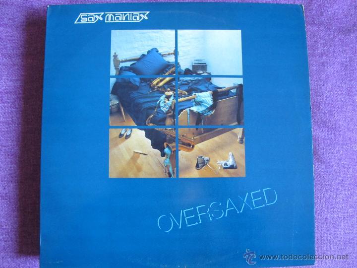LP - OVERSAXED - SAX MANIAX (PORTUGAL, PENTHOUSE RECORDS SIN FECHA) (Música - Discos - LP Vinilo - Funk, Soul y Black Music)
